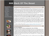 666 Mark Of The Beast.org