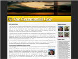 Ceremonial Law.org