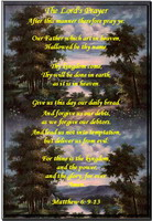 The Lord's Prayer(From Matthew 6:9-13)
