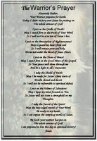 The Warrior's Prayer